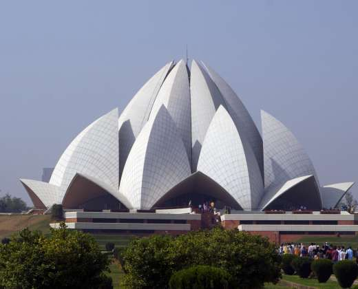 Indija. Delis. Lotus šventykla