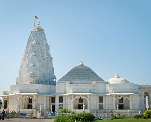 Indija. Džaipuras. Birla Mandir šventykla
