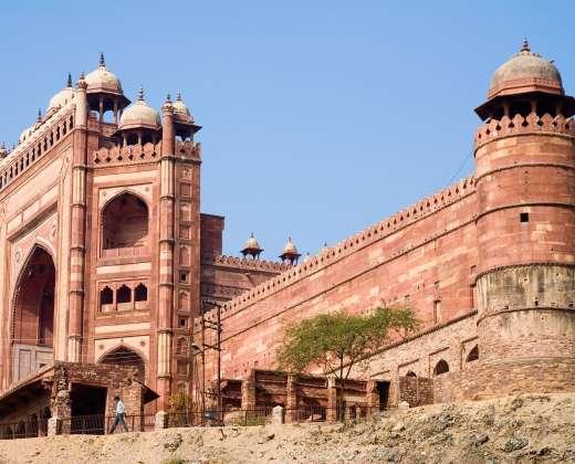 Indija. Fatehpur Sikri