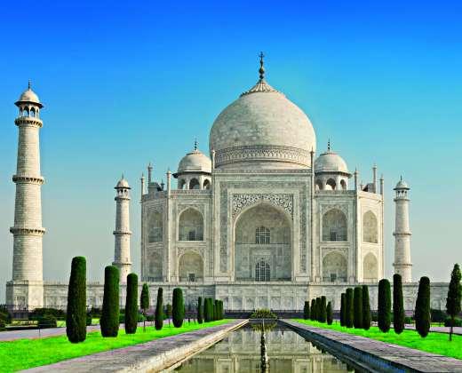 Indija. Tadž Mahalas