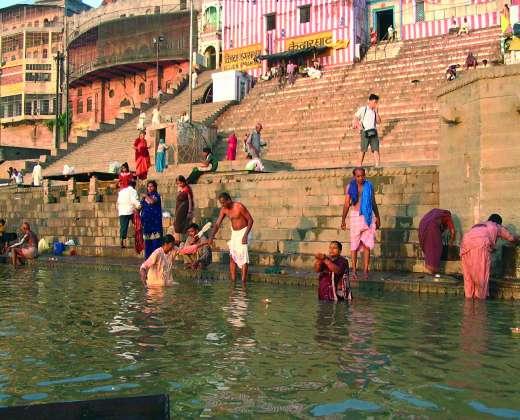 Indija. Varanasis