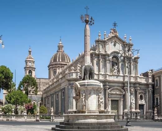 Sicilija. Katanija. Katedra