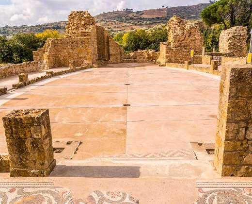 Sicilija. Romėnų vila