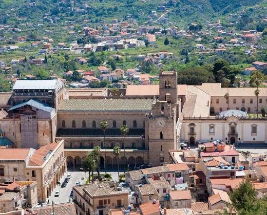 Sicilija. Monrealė