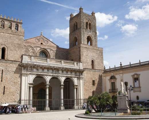Sicilija. Monrealės katedra