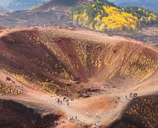 Sicilija. Etnos krateris