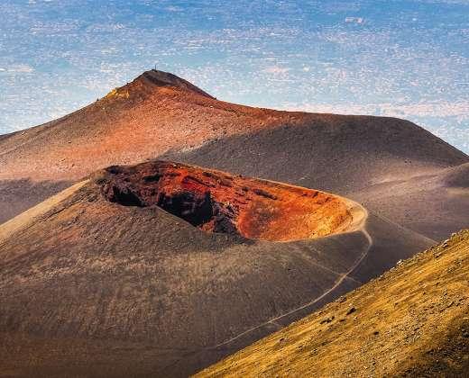Sicilija. Etnos ugnikalnis