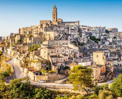Italija. Matera