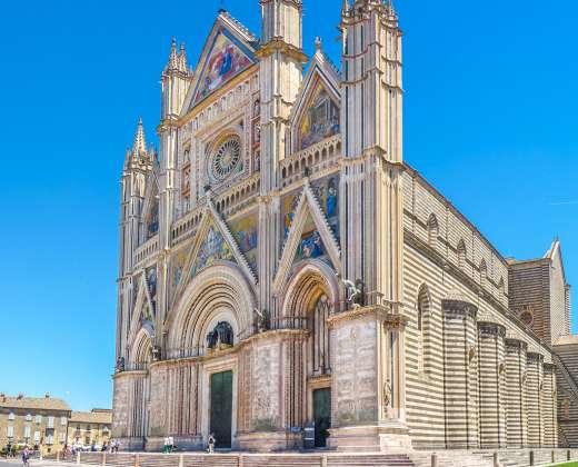 Italija. Orvjeto katedra