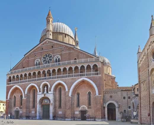 Italija. Paduva. Šv. Antano Paduviečio bazilika