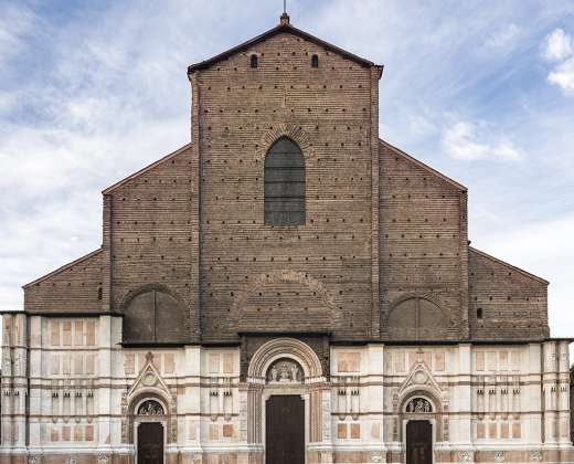 Italija. Bolonija. Šv. Petronijaus bažnyčia