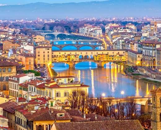 Italija. Florencija. Ponte Vecchio