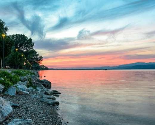 Italija. Trasimeno ežeras