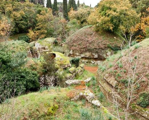 Italija. Červeteris. Buvęs etruskų miestas