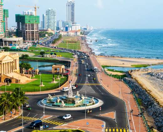 Šri Lanka. Kolombas