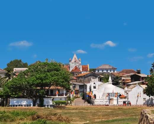 Šri Lanka. Galle fortas