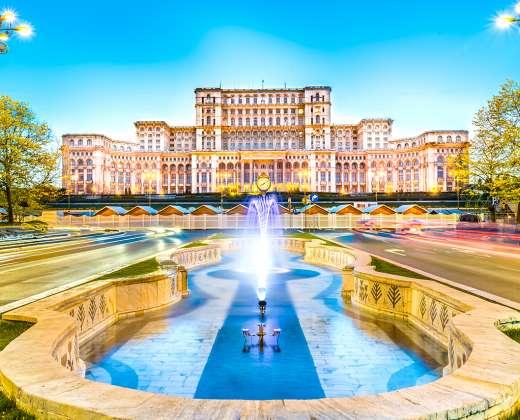 Rumunija. Bukareštas. Parlamento rūmai