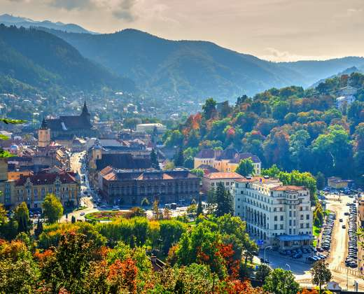 Rumunija. Brašovas