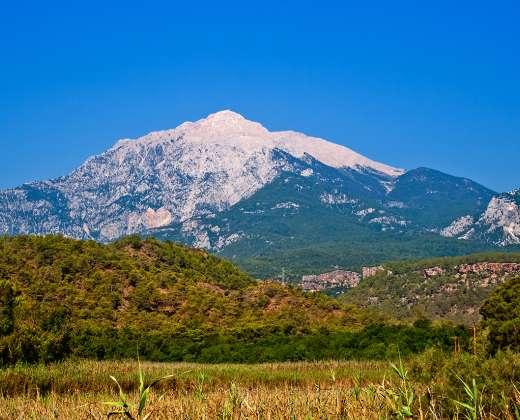 Turkija. Tachtali kalnas