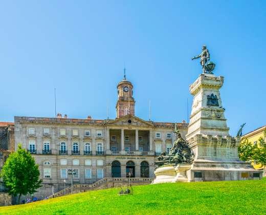 Portugalija. Portas. Bolsa rūmai