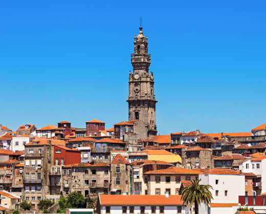 Portugalija. Portas. Clerigos bokštas