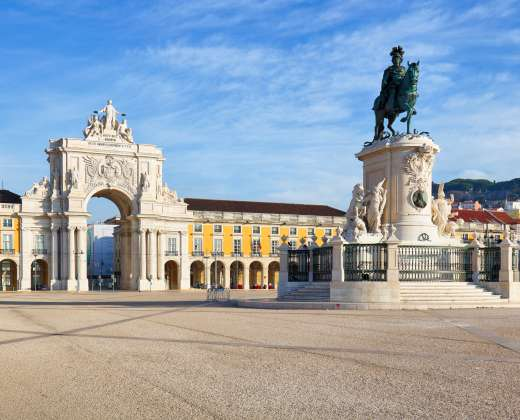 Lisabona.Comercio aikštė