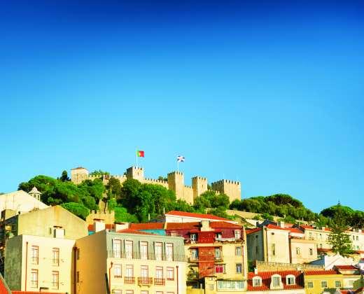 Lisabona. Šv. Jurgio tvirtovė