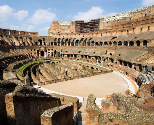 Italija. Roma. Koliziejus