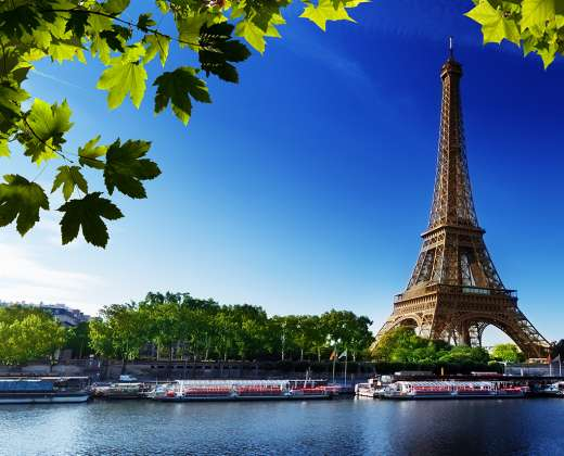 Prancūzija. Paryžius. Eifelio bokštas