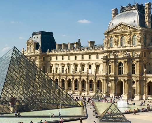Prancūzija. Paryžius. Luvras