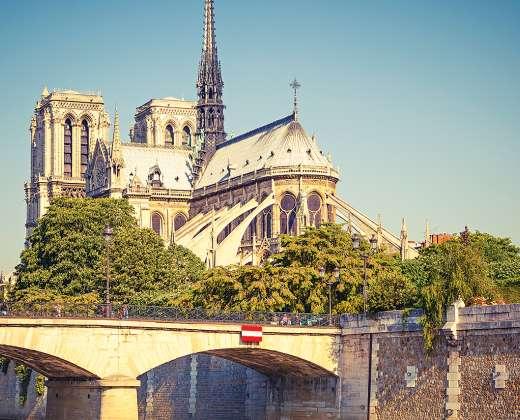 Prancūzija. Paryžius. Notre Dame katedra