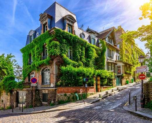Prancūzija. Paryžius. Monmartras