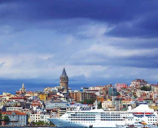 Turkija. Stambulas. Galatos bokštas