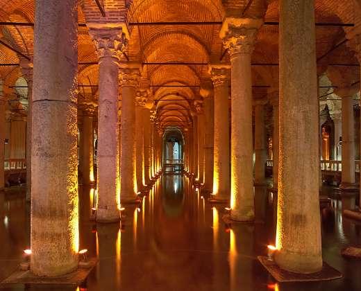 Turkija. Stambulas. Bazilikos Cisterna