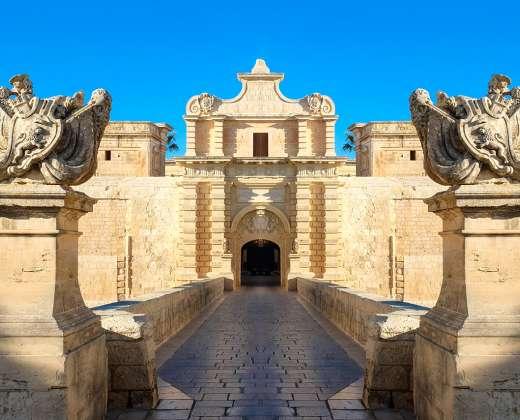 Malta. Mdina