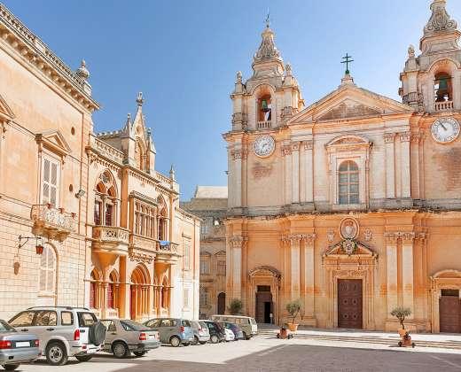 Malta. Mdina. Šv. Pauliaus katedra