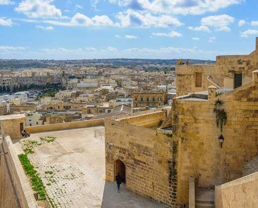 Malta. Gozo sala. Viktorija, Citadelė