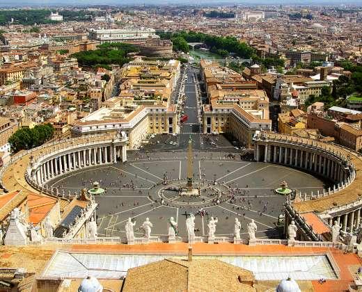 Roma. Šv. Petro aikštė