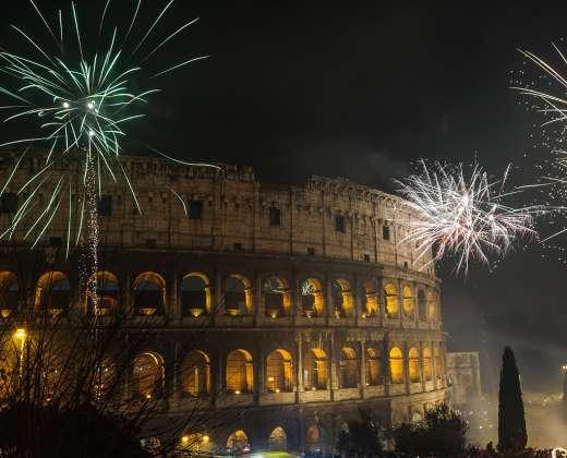 Naujųjų metų sutikimas Romoje