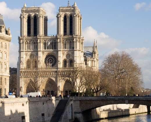 Paryžius. Notre Dame katedra