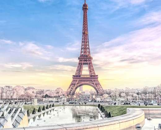 Paryžius. Eifelio bokštas