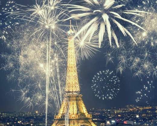 Naujųjų Metų sutikimas Paryžiuje