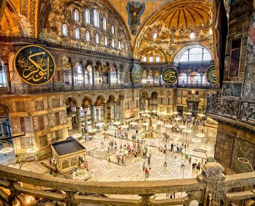 Turkija. Stambulas. Šv. Sofijos soboras