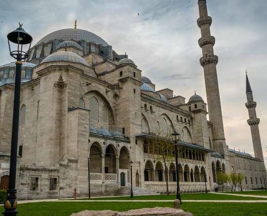 Turkija. Stambulas. Suleimanijos mečetė