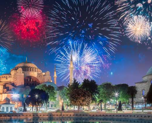 Turkija. Stambulas. Naujųjų Metų sutikimas