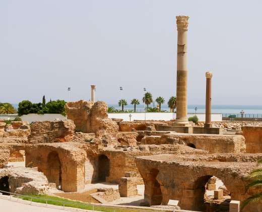 Tunisas. Kartagina. Archeologinė vietovė