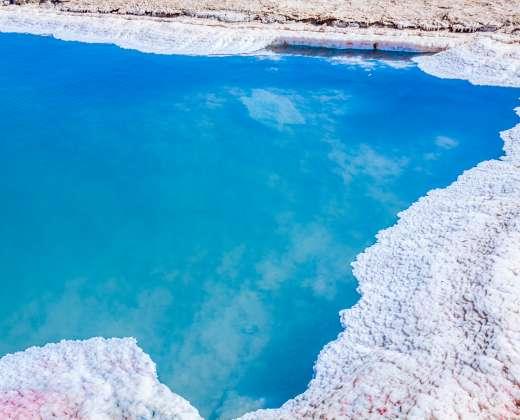 Tunisas. Tozeuras. Druskos ežeras