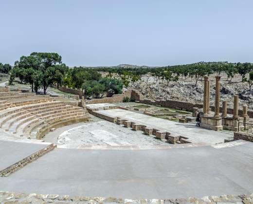 Tunisas. Kairuanas. Sidi Okbos mečetė