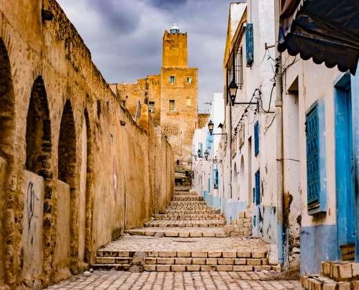 Tunisas. As Susas. Medina