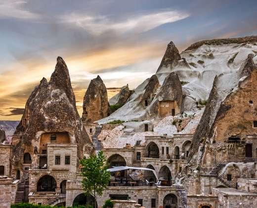 Turkija Gioreme muziejus
